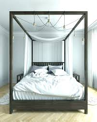 wood canopy bed king king canopy beds twin drapes for queen bed ...