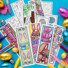 You can print these on card stock paper and share these with your kids, friends and family as this is a very cute bookmarks template that will add some magical fun to easter celebrations of little ones. Printable Bookmarks To Color Worksheets Teachers Pay Teachers