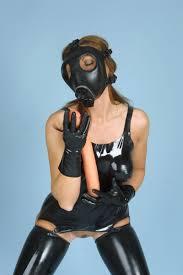 Gas mask fetish porn