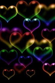 3d colorful heart wallpapers. Delighful Colorful Resultado De Imagen Para Wallpapers Decorados Luces Navidad Heart  Bubbles Rainbow For 3d Colorful Wallpapers L