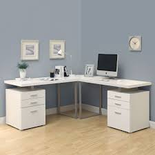 l shaped desk for sale. Plain For Glass Lshaped Desk All White Modern And Contemporary Design On L Shaped Desk For Sale K