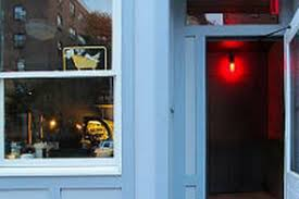 it may be roof bar season but let s take a break from all of the outdoor fun to focus on the opening of bathtub gin a new basement speakeasy whose