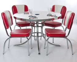 Retro Kitchen Chairs For Kitchen Wonderful Retro Kitchen Furniture Ideas With Red Retro