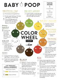 Newborn Stool Color Chart Baby Poop Guide