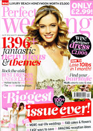 Our Design On Perfect Wedding Front Cover Ivory Co