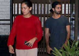 shahid kapoor and mira rajput spotted on a dinner date