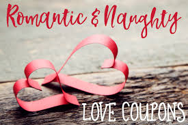 Printable Homemade Coupons Romantic And Naughty Printable Love Coupons For Him Glitter N Spice
