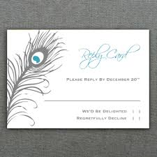 rsvp card template free rsvp template peacock feather rsvp card template download print
