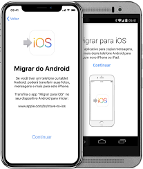 Migrar Do Android Para O Iphone Ipad Ou Ipod Touch Suporte Da Apple