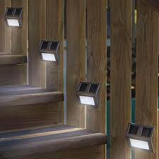 outdoor lighting for decks. Appealing Modern Patio Design Idea With Deck Lights Lowes And Wood Railing Plus Outdoor Lighting For Decks