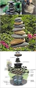 homemade water fountain ideas diy outdoor kits small fountains decorating traditional garden landscape of decoratingtraditional designs