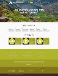Design Gallery Live Website Design 53298 Hiking Camper Camping Custom Website Design