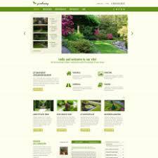 Small Picture Garden Design Responsive Joomla Template 52177