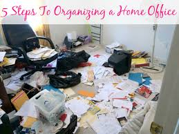 home office organisation. 5 Steps To Organizing A Home Office | Organize 365 Organisation