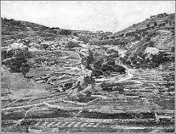 Image result for the valley of hinnom map in the bible