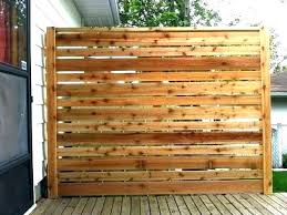 deck privacy wall ideas decks patio screens diy