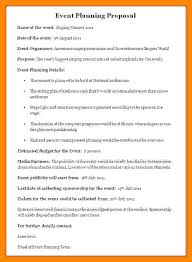 Event Planning Proposal Proposal Event Concert Sample Pdf Naveshop Co