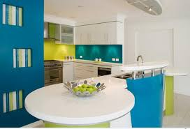 colorful kitchen ideas. Funky Colored Kitchen Colorful Ideas L