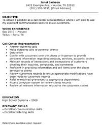 Call Center Resume Classy Call Center Representative Resume The Resume Template Site