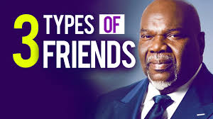 Td Jakes Quotes Impressive 48 Types Of Friends By TD Jakes Be Careful Who You Tell Your Dream