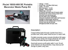 similiar flojet portable waste pump keywords flojet macerator portable waste pump kit