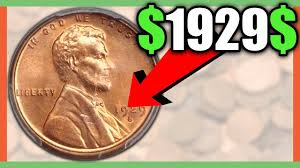 Penny Values Chart What Is A 1929 Wheat Penny Worth Rare Penny Coins Worth Money