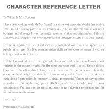 Recommendation Letter Examples Beauteous Character Reference Letter For Rental Application Appinstructorco