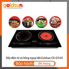 Bếp Điện Từ và Hồng Ngoại Đôi Goldsun CH-GYL05