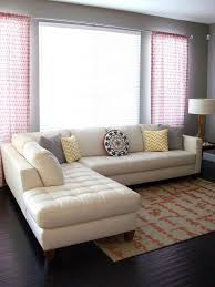 with cool cream sectional sofa