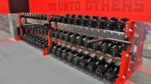 york legacy dumbbells. the uprights are made out of tubing that my squat rack is of. in base integrated bar holders. i will find some pics here shortly and edit york legacy dumbbells