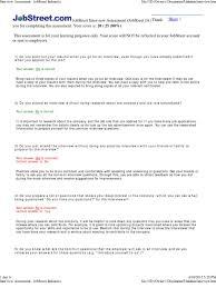 Interview Assessment Jobstreet Indonesia Question Interview
