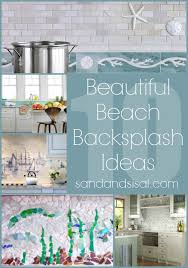 Plain Beautiful Beach House Kitchen Backsplash Ideas Coastal Coastal Kitchen Backsplash Ideas