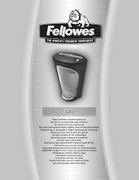 Fellowes Ps 67cs Shredder Red Light Fellowes Powershred Ds 1 Manualzz Com