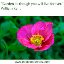 Quote Garden Beauteous Gardening Quote Garden And Live Postconsumers