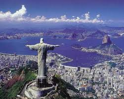 Image result for statue of christ overlooking rio de janeiro