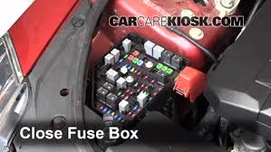 replace a fuse 2008 2015 cadillac cts 2010 cadillac cts 3 0l v6 6 replace cover secure the cover and test component