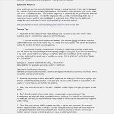 Objective Statements For Resume Examples Sample Resume Objective