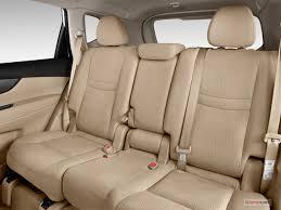 2016 nissan rogue rear seat