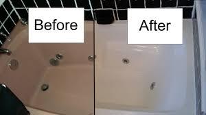 bathtub refinishing kit admirable how refinish a with rustoleum
