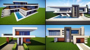 Minecraft: 30 Awesome Modern House ideas + Tutorial + Download 2016