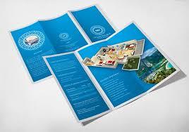 30 Creative Tri Fold Brochure Template Designs
