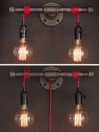 industrial lighting diy. Shop For Lighting On Etsy, The Place To Express Your Creativity Through Buying And Selling Of Handmade Vintage Goods. Industrial Diy S
