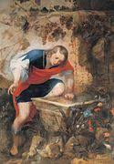 narcissus mythology  narcissus at the spring jan roos