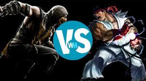 mortal kombat vs street fighter youtube