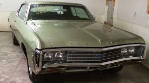 1969 Chevrolet Impala Custom 327 V8 - YouTube