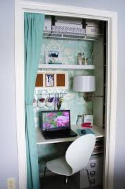 turn closet into office. Turn Your Closet Into A Organized Desk Area......good For Our Extra Office D