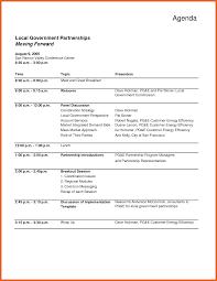 7 Sample Agenda Formats Janitor Resume