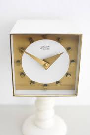 vintage desk clock from atlanta