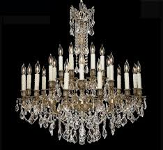 huge crystal chandelier elise collection 24 light large brass crystal chandelier