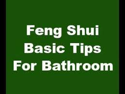 Create Good Feng Shui In Your BathroomFeng Shui Bathroom Colors